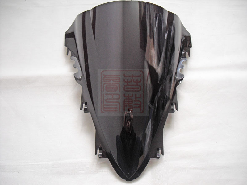 Motorbike Windshield Yamaha 2008 2007 New Black for YZF R1 Yzf-r1/2007/2008/.. High-Quality title=