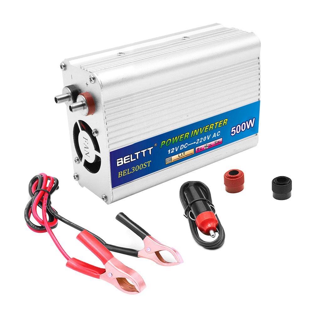 500 W onduleur 12 V/24 V à AC 110/220 volts USB modifié onde sinusoïdale convertisseur de Charge de voiture numérique transformateur