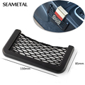 1PC Universal Car Styling Strong Net String Box Pocket Organizer Bag Baskets Mobile Network Shelf Nets Interior Auto Accessories