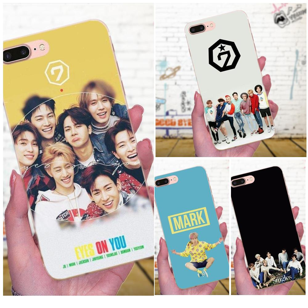 Cellphones & Telecommunications Phone Bags & Cases Fashion Style Got7 Kpop Tpu Cell Case For Xiaomi Mi3 Mi4 Mi4c Mi4i Mi5 Mi 5s 5x 6 6x 8 Se A1 Max Mix 2 Note 3 4 Luxuriant In Design