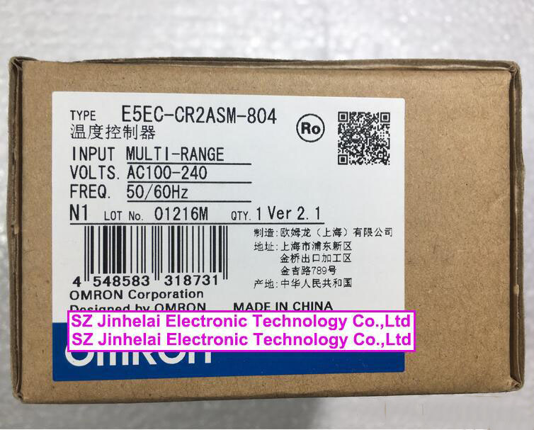 E5EC-CR2ASM-804 New and original OMRON Temperature controller все цены