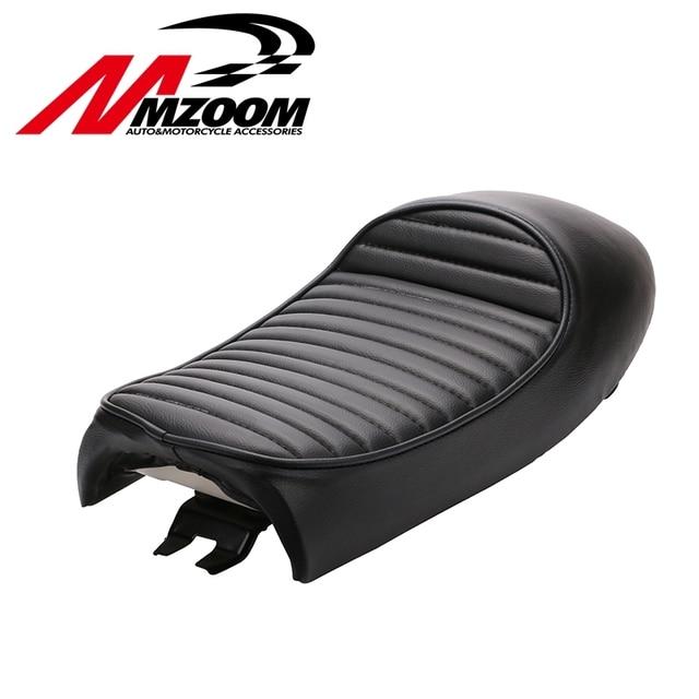 New Brown Vintage Hump Seat Cafe Racer Saddle GN CB200 CB350 CB400SS CB500 CB750 SR400 SR500 XJ XS KZ Motorcycle Retro Seat