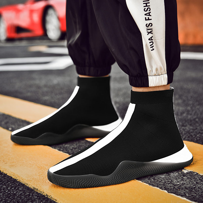 Respirant Mâle Chelsea Bottes Boots Rouge Cheville Black Bas Cnfiia Automne Chaussures Mode Boots De white Boots Hommes red Noir Casual pFOvRqw