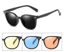 New  Sun Glasses For Women Female Cool Sunglasses Brand Designer Cat Eye Ocean Color