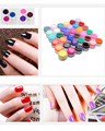 12 pcs Professional Long Lasting UV Gel Nail Polish Set Nail Gel Polish base nail Art Decorations M01354