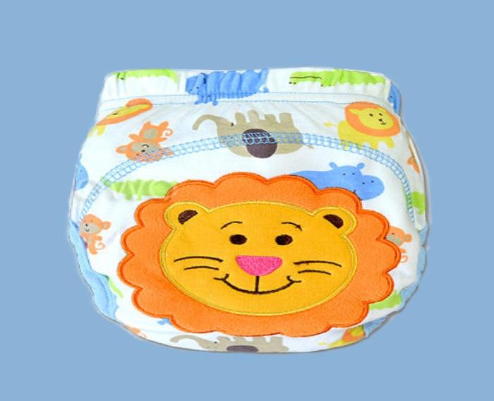 Baby wasserdichte wiederverwendbare Baumwolle Windeln / Kinder Stoffwindel / wiederverwendbare Windeln / Trainingshose / Windel Abdeckung waschbar NB004
