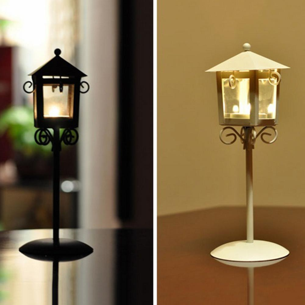 Vintage Iron Candlestick Street Lamp Floor Lamp European Furniture Artware Decorations ...