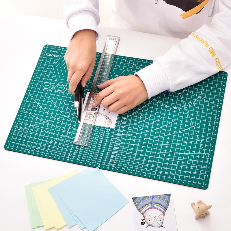 Deli A3 Pvc Cutting Mat Cutting Pad Patchwork Cut Pad A3 Patchwork Tools Manual Diy Tool Cutting Board Durable Paper Mat