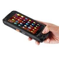 2D Laser Barcode Scanner Android 7.0 4G Lte Handheld Data Collector PDA Terminal Fingerprint Reader Waterproof