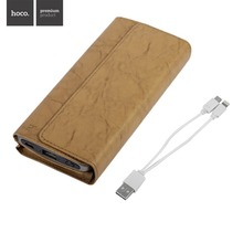 HOCO P4 4800mAh Wallet Style External Power Bank Smart Phone Power Supply Battery Charger For Android For Iphone