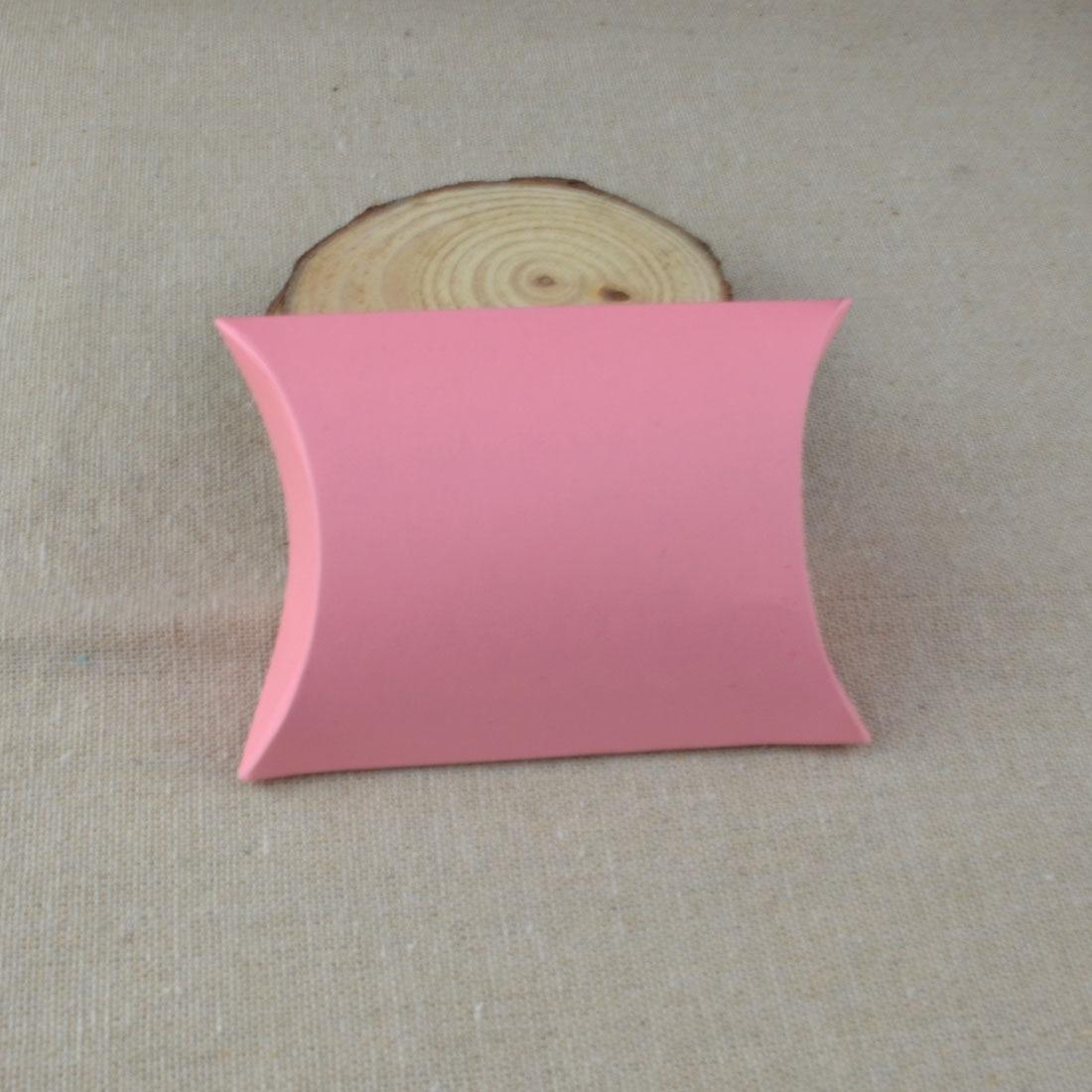 9*6.5*2.4CM Novelty Pillow Kraft paper Candy Box Wedding Baby Shower ...