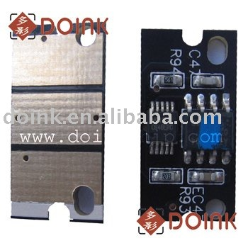 For Konica Minolta magicolor 4650EN compatible toner chip with free shipping