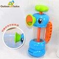 Fonte para o Banho Do Bebê Jogo Brinquedos para As Crianças Crianças Hipocampo Bombas de Pulverização de Água Torneiras Cedo Brinquedos Educativos Presentes