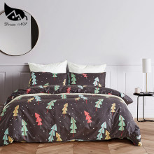 Dream NS Bedding Set Household 3/4PCS Twin Queen King 100% Polyester Sanding Bedding Sets Brief Printed Plant Norway Forest(China)