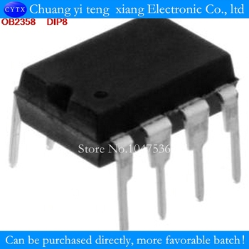 10PCS/LOT OB2358AP OB2358 anagement IC DIP8 image