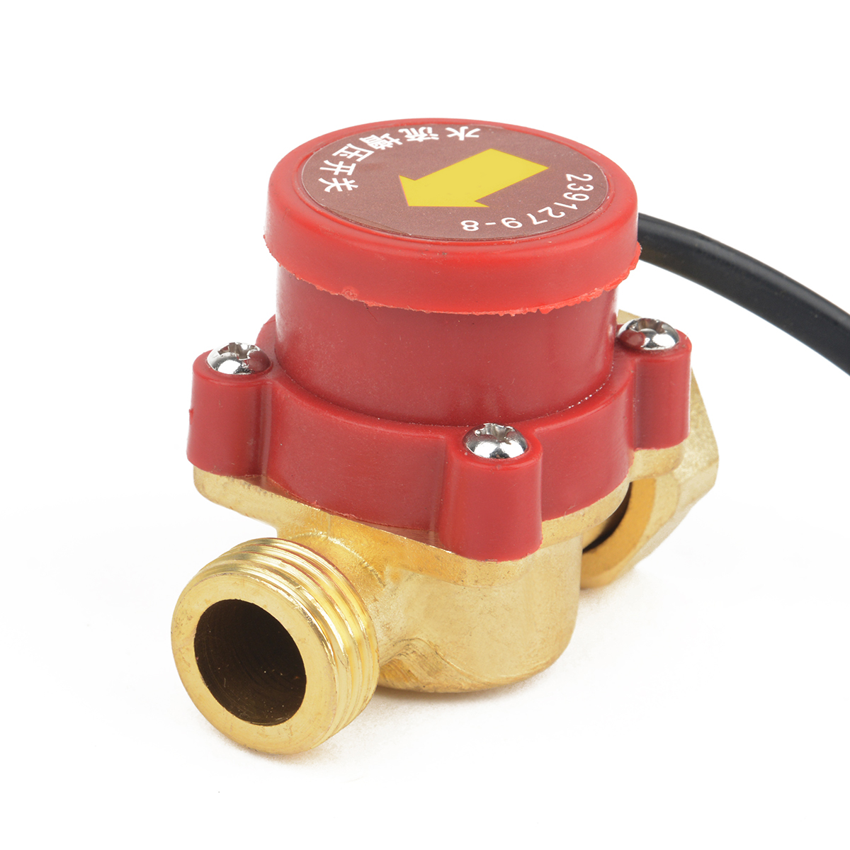 Mayitr 1pc Practical Male Thread Connector Circulation Pump Water Flow Sensor Switch 220V 120W