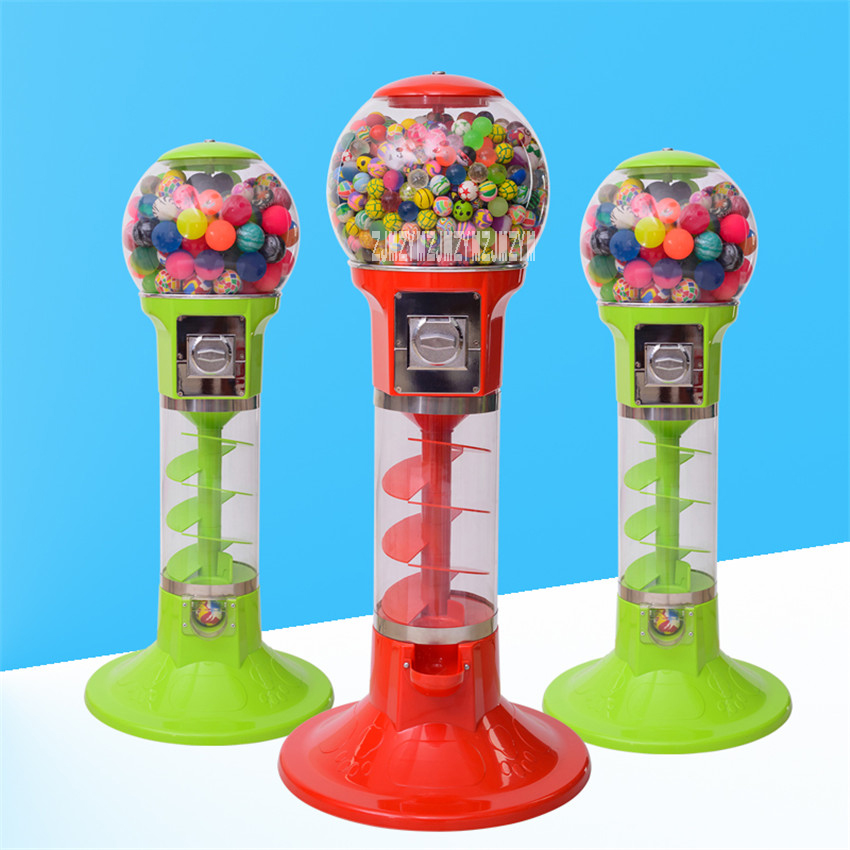 1PC Automatic Coin operated Game Machine 32mm 60mm Bouncy Ball Machines /Twisted Egg Games Vending Machine 1.1 m/1.3 m Hot Sale - 4