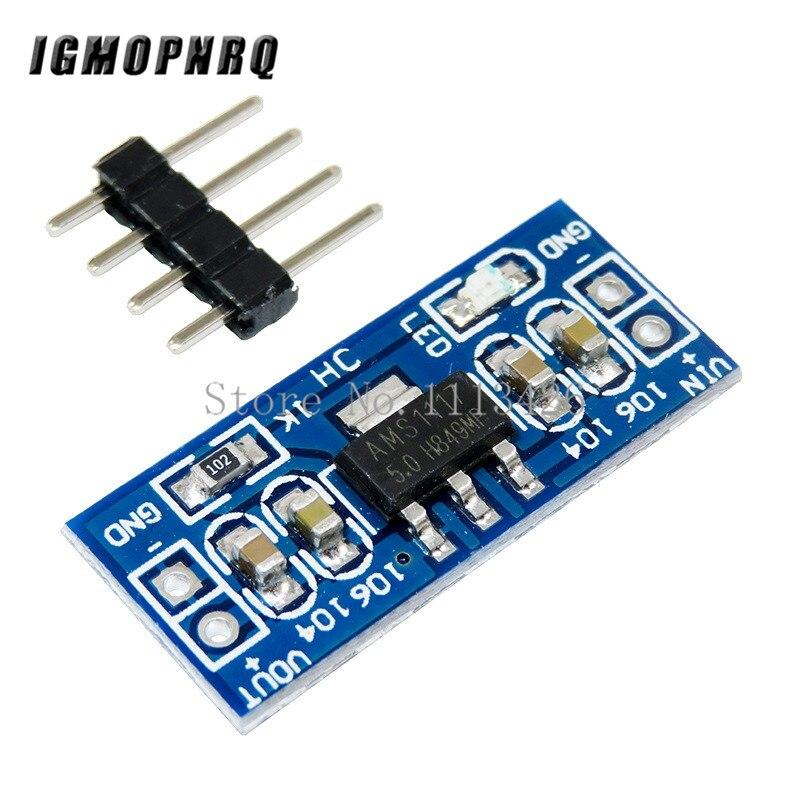 10 pcs AMS1117 5V (6-12V) Turn To 5V Power Supply Module AMS1117-5.010 pcs AMS1117 5V (6-12V) Turn To 5V Power Supply Module AMS1117-5.0