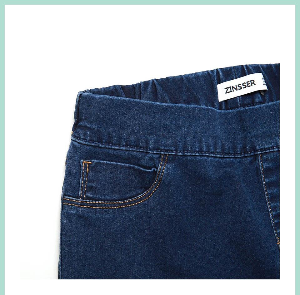 Autumn Winter minimalist Women Denim Skinny Legging Stretch Fake Front Pocket Medium Waist Washed Blue Slim Elastic Lady Jeans 16