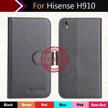 Hot!! In Stock Hisense H910 Case 6 Colors Dedicated Leather Exclusive For Slip-resistant Phone Cover+Tracking