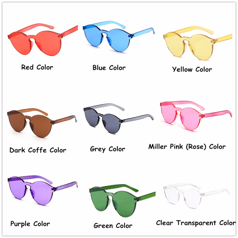 US $25.01 40% OFF 9 stücke Familie Packs Bunte Transparente RundeHerz Super Retro Sonnenbrille, Farbe Chromatherapy Gläser Lichttherapie Gläser in