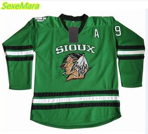 SexeMara Cheap limit #9 Jonathan Toews North Dakota Fighting Sioux hockey Jersey Double Stitched S-XXXL Free Shipping kellerman jonathan murderer s daughter exp