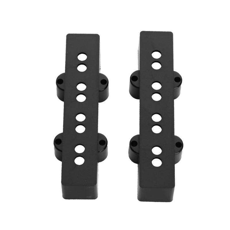 2pcs/set Plastic Open Pickup Covers Neck Bridge 92/95mm 4 Strings for JB Bass High Quality Guitar Accessories Parts Promotion