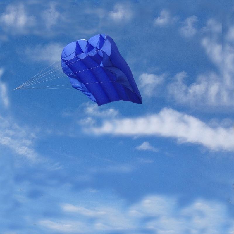 Livraison gratuite 10 m² pilote cerf-volant de weifang kaixuan ligne de cerf-volant parachute cerf-volant bobine poulpe cerfs-volants pour adulte jack gonflable