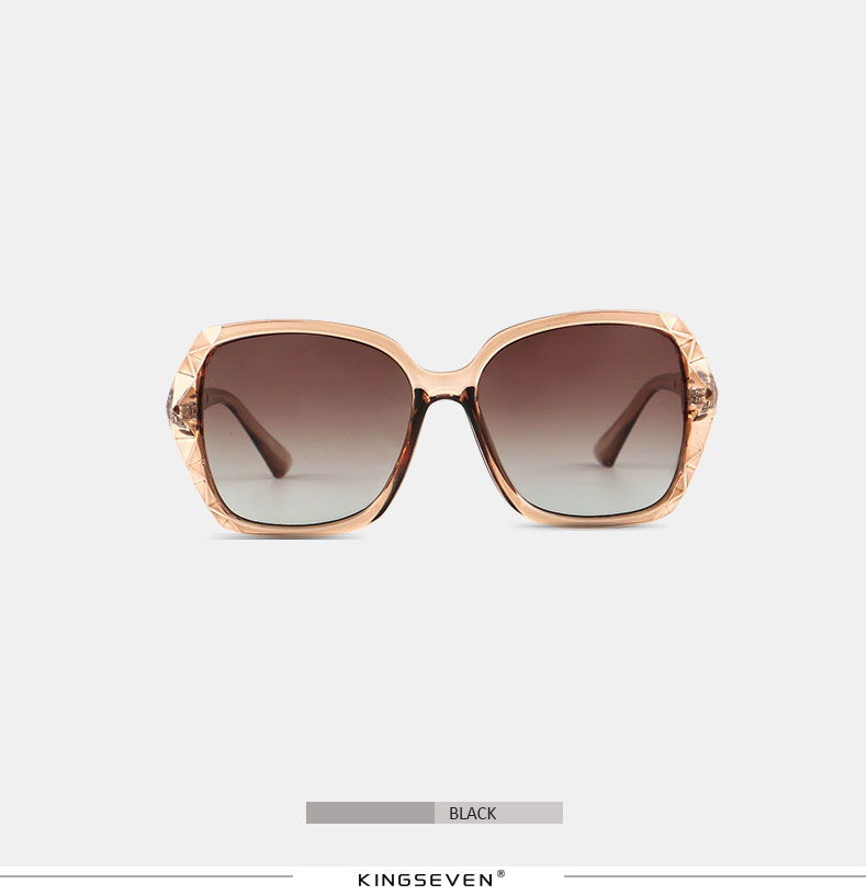KINGSEVEN Sunglasses Women Gradient Polarized Diamond Frame Sun Glasses For Driving Luxury Lady Shades Eyewear Accessories 7538 5