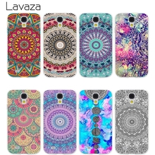 Lavaza Floral Paisley Flower Mandala Hard Transparent Cover Case for Samsung Galaxy S7 Edge S6 S8 Edge Plus S5 S4 S3 & Mini S2