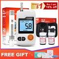 Cofoe GA-3 Bloedglucosemeter & Test Strips & Lancetten Naalden Glucometer Blood Suiker Detectie Monitor voor Diabetische