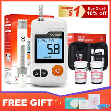 Cofoe GA-3 Blood Glucose Meter & Test Strips & Lancets Needles Glucometer Blood Sugar Detection Monitor for Diabetic(China)