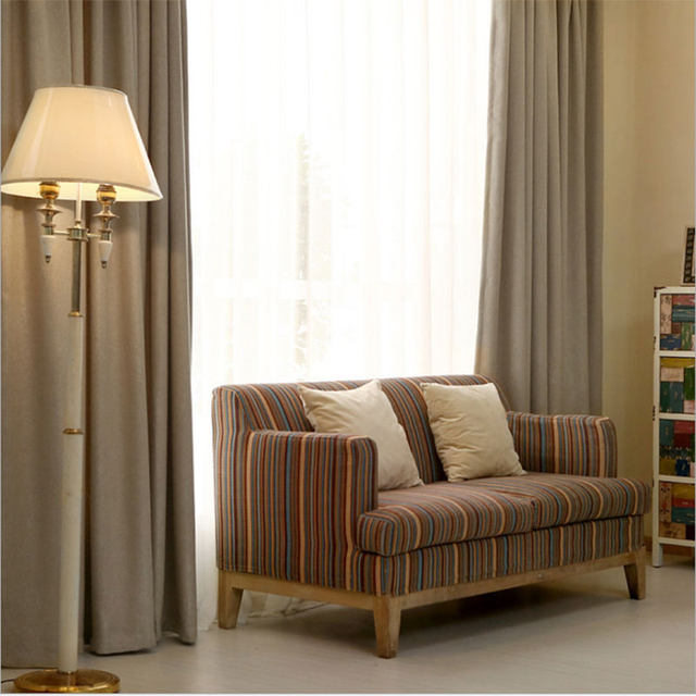 Hotel Curtains Blackout Living Room Solid Color Home Window Treatments Modern Bedroom Drapes For Sale Single Panel