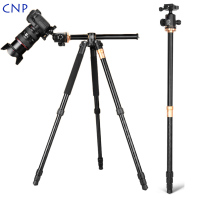 QZSD Q999H Horizontal Camera Tripod Video Live Monopod Professional Tripod for Camera with Quick Release Plate and Ball Head