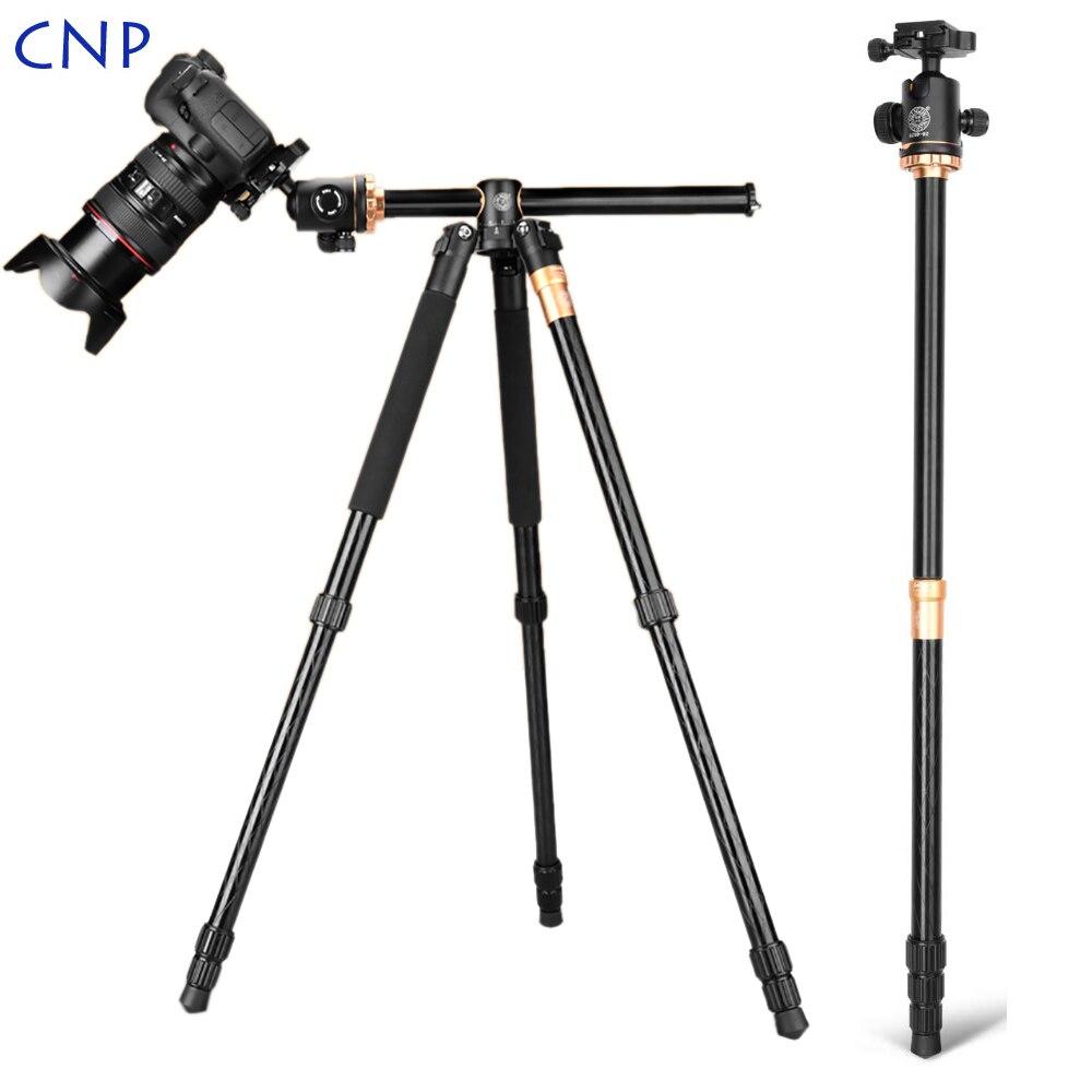 QZSD Q999H trépied de caméra horizontale vidéo monopode en direct trépied professionnel pour caméra avec plaque de dégagement rapide et tête à billes