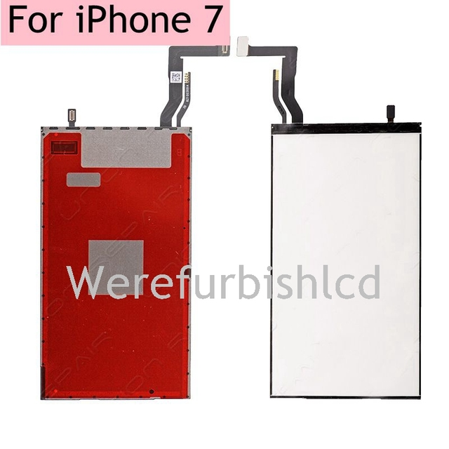 High quality LCD backlight film wiht flex cable robbin For iPhone 7 7G back light Replacement Part