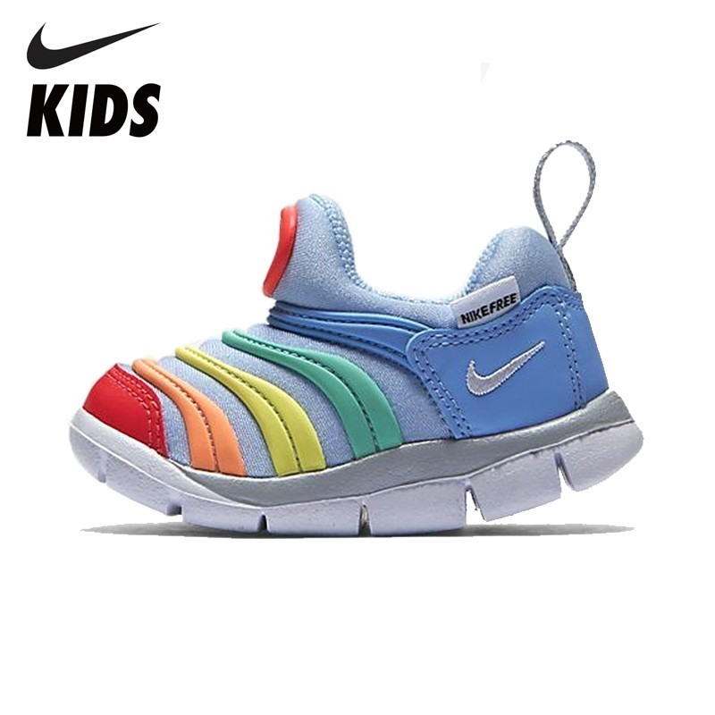 NIKE  Kids Original DYNAMO FREE Kids Running Shoes Comfortable Sports Sneakers #343938-425