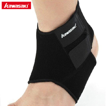 Kawasaki Brand Adjustable Ankle Support Brace Pad Guard for Basketball Running Volleyball Sports Safety Accessories KF-3602