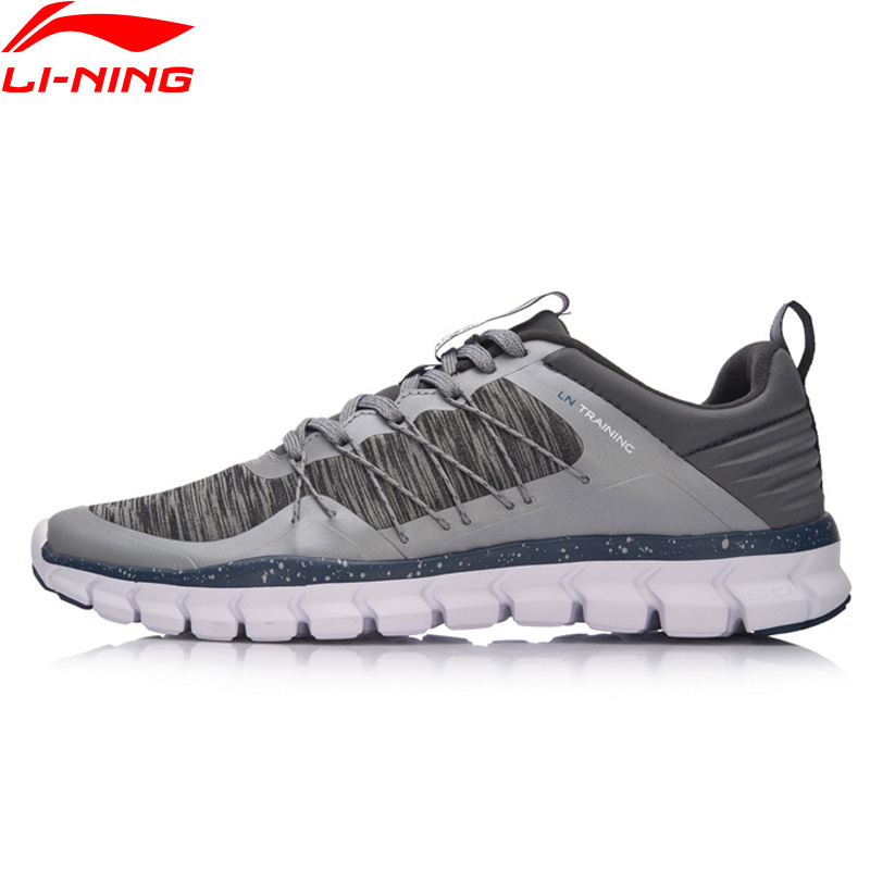Li-Ning 24H MenTraining Shoes Wearable Breathable LiNing Sports Shoes Light Weight Anti-Slip Sneakers AFHM027 YXX019 2016 kelme football boots broken nail kids skid wearable shoes breathable