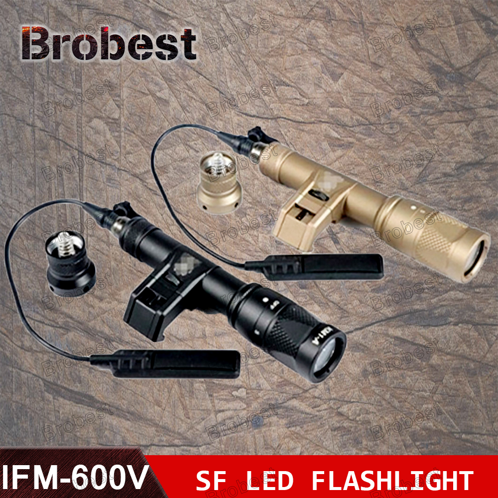 M600V IR Scout Light Hunting Night Evolution LED Flashlight Tactical Waterproof Light With with Tape Switch night evolution wmx200 tactical gun light led flashlight strobe remote tail switch ir light for picatinny rail spotlight hunting
