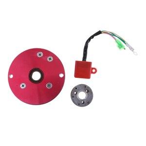 Image 4 - Kit de Rotor interno de rendimiento Magneto, estátor CDI para 110 125 140cc Lifan YX, accesorios de Encendido para motocicleta, inflamación