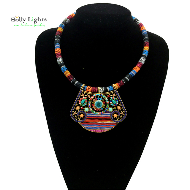 Tribal ethnic necklace & pendant New Collection 2017