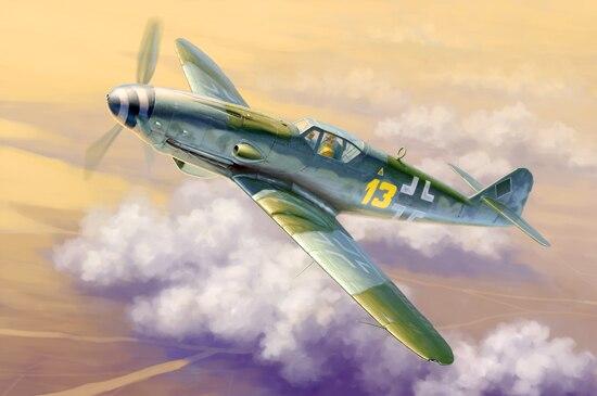 Trumpeter 1:32 02299 Messerschmitt Me Bf 109 K-4 - New dragon 3222 1 32 messerschmitt bf109e 3