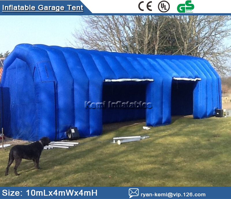 Free shipping Inflatable Garage tent inflatable building storage Inflatable car exhibition display advertising tent white color inflatable tent car garage tent with fully new blower