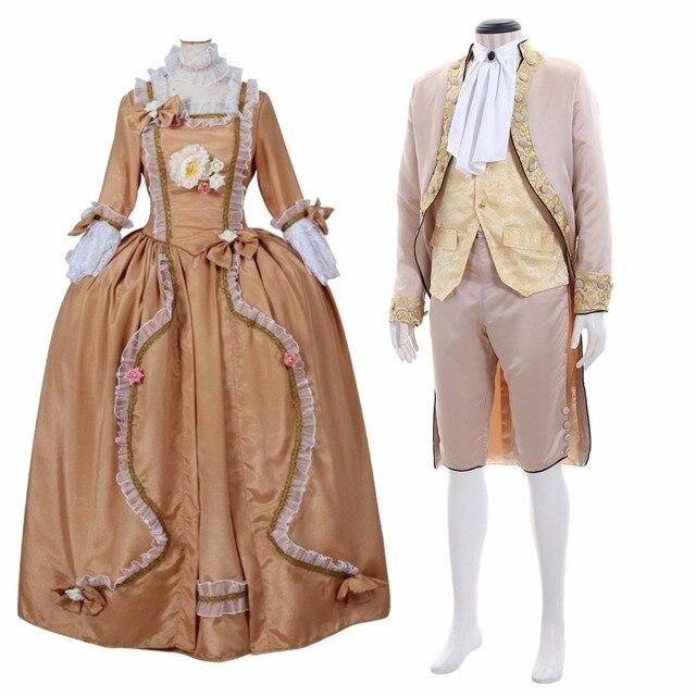 Cosplaydiy Victorian Elegant Gothic Aristocrat 18th Century Mens