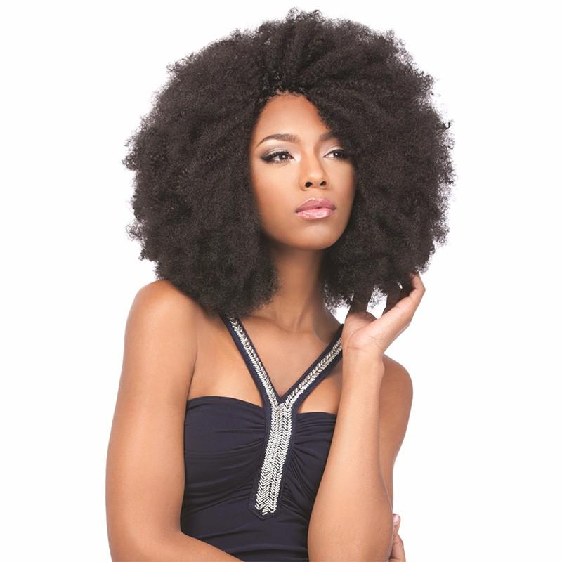 Sleek 3pcslot Tight Afro Kinky Bulk Hair 100% Human Hair For Dreadlocks, Indian Hair Kinky Twist hair in Bulk Natural Color  (2)