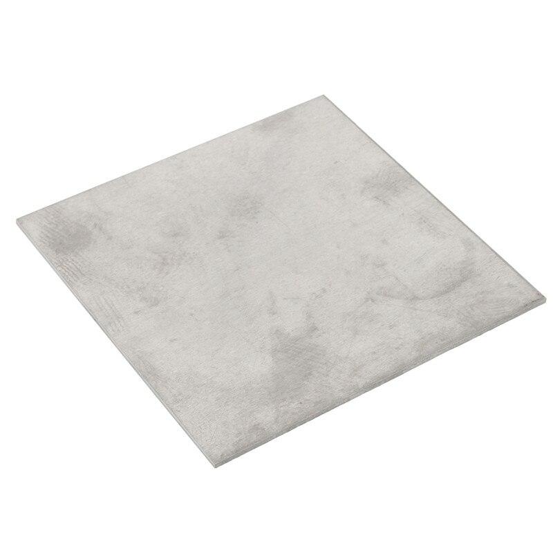 Newest 2mm thick Titanium 6al-4v Sheet 078 x 6 x 6 Grade.5 Plate Ti Gr5 Metal 1sheet matte surface 3k 100% carbon fiber plate sheet 2mm thickness