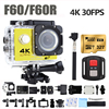 Goldfox 16MP 4K Wifi Action Camera 170D Wide Lens 30M Underwater Camera Go Waterproof Pro Sport