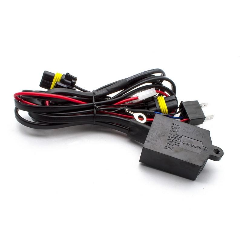 Safego AC 12 V hid xénon kit 55 w H4-3 Bi xénon H4 haute basse salut/lo Bixenon kit 4300 K 5000 K 6000 K h4 xénon 55 w voiture phares ampoules - 4