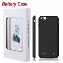 7 7 Plus Зарядное устройство чехол для iPhone 6 S 7 Plus Батарея случае Запасные Аккумуляторы для телефонов pack телефон крышка ультра тонкий Тонкий резервного копирования внешнего Портативный
